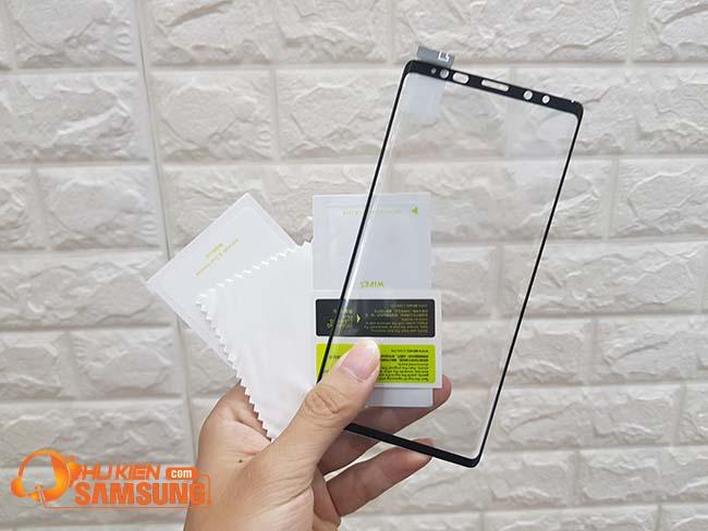 Kính cường lực benks samsung galaxy Note 9 không đơ cảm ứng