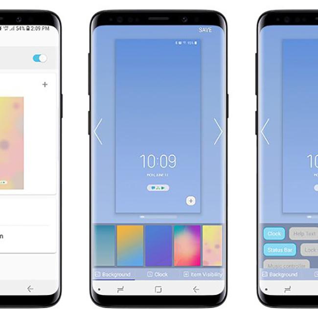 hình ảnh Samsung galaxy Note 9 với thiết kế đẹp mắt