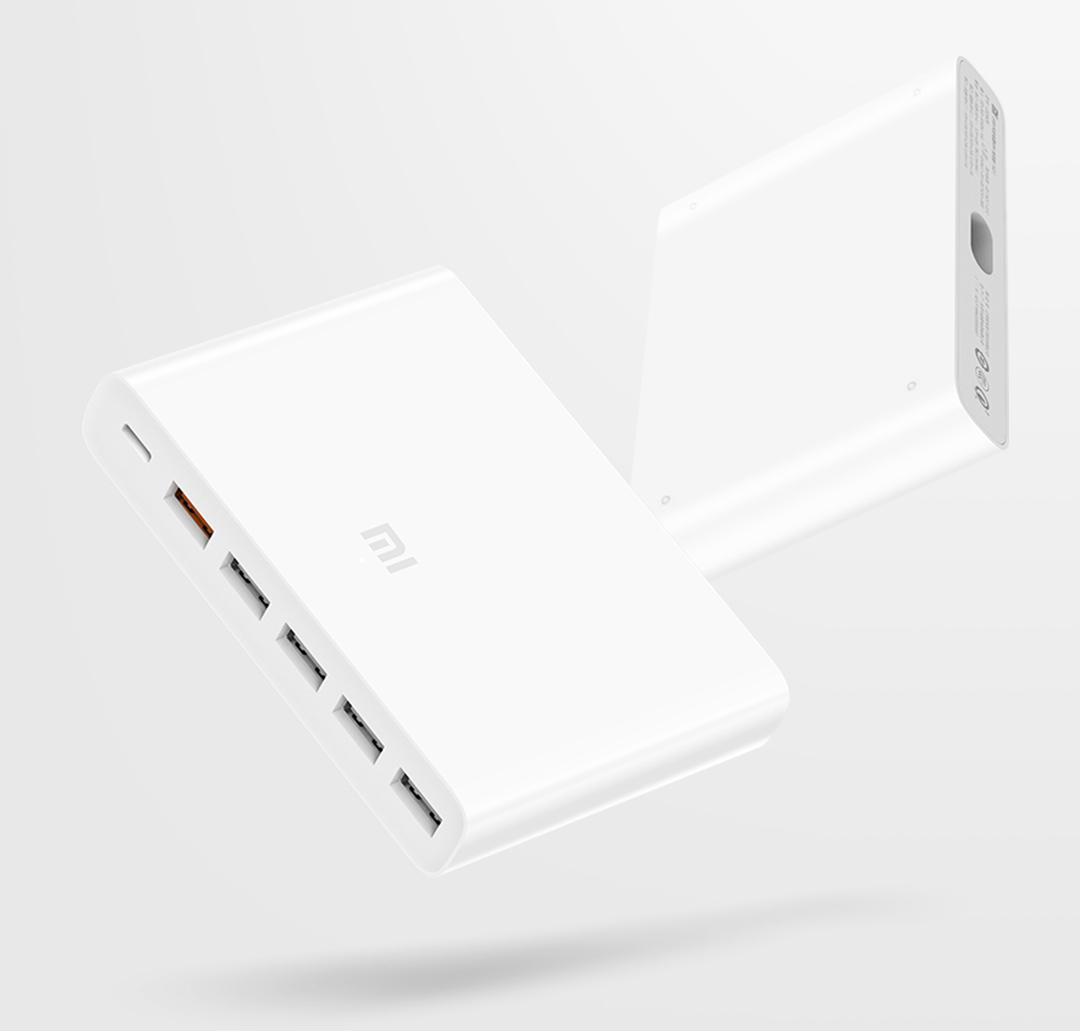 bộ sạc nhanh 6 cổng Xiaomi