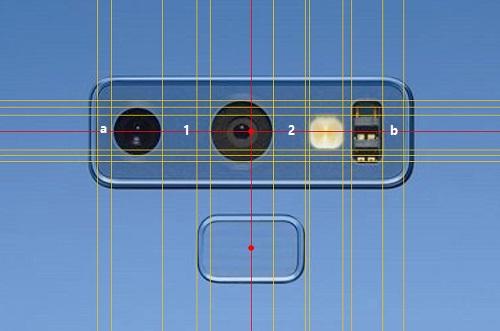 vị trí không đối xứng giữa 2 camera và tổng thể cụm mặt sau
