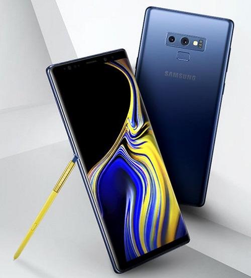 Samsung Galaxy Note 9 trông rất đẹp mắt nhưng ít ai nghĩ nó có thiết kế hơi bị lệch lạc