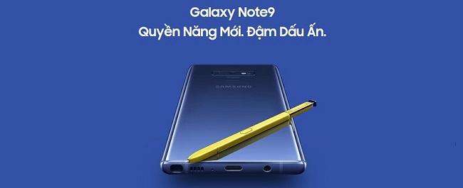 những điểm nổi bật trên galaxy note 9 đánh bại mọi smartphone
