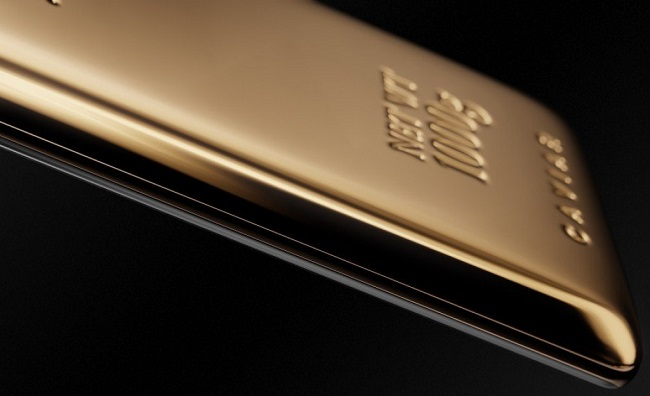 Samsung galaxy Note 9 phiên bản vàng 999.9k