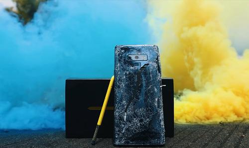 Galaxy Note 9 còn sống khi thả rơi ở độ cao 1000Ft?