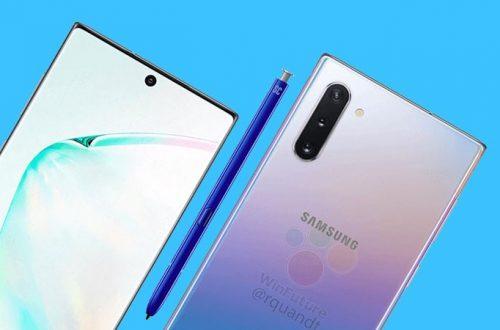 Thiết kế của Samsung Galaxy Note 10 được xác nhận?