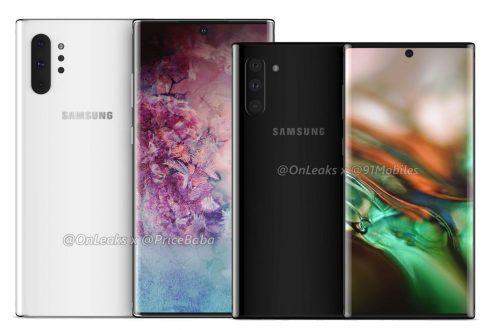 Rò rỉ thông tin Galaxy Note 10: 2 phiên bản, camera ở giữa màn hình