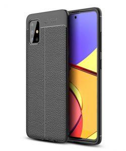 Ốp lưng Galaxy A51 giả da cao cấp