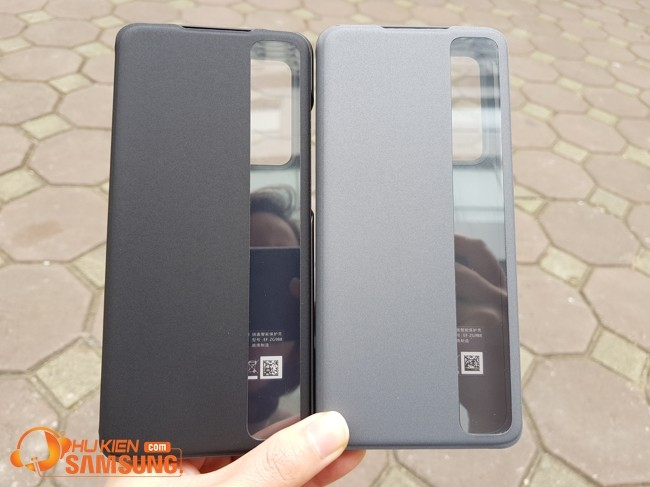 Bao da Clear View Samsung S20 Ultra chính hãng
