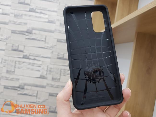 mặt sau ốp lưng Samsung S20 Spigen Core Armor