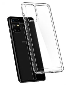 Ốp lưng Samsung S20 Plus Silicon trong suốt 100%