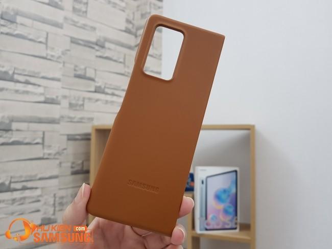 Ốp lưng Galaxy Z Fold 2 da thật