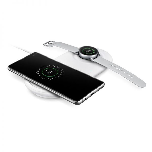 Đế sạc nhanh không dây Samsung S20 cao cấp