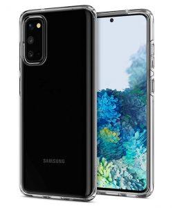 Ốp lưng Samsung S20 Spigen Liquid Crystal trong suốt 100