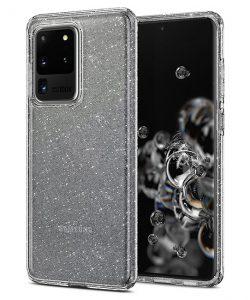 Ốp lưng Samsung S20 Ultra Liquid Crystal Glitter chính hãng Spigen