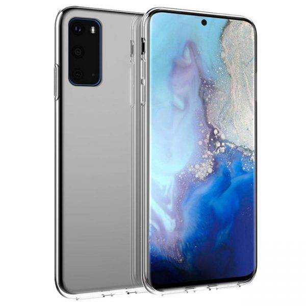 Ốp lưng Samsung S20 Silicon trong suốt 100%